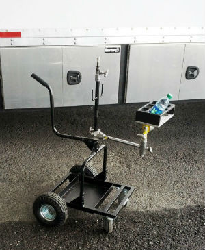 Backstage Monitor Mover Cart