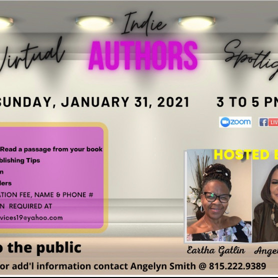 Virtual Indie Author Spotlight