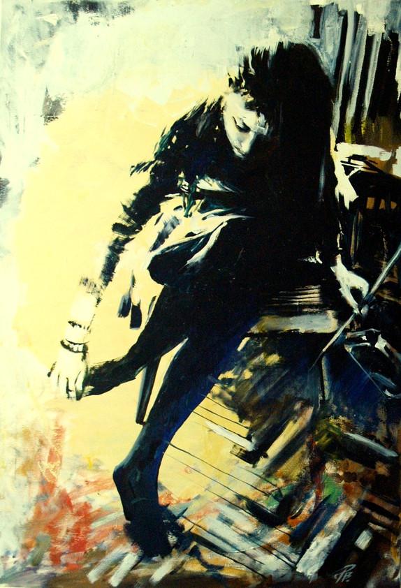 Q stencil_Ralu, oil on canvas,.JPG