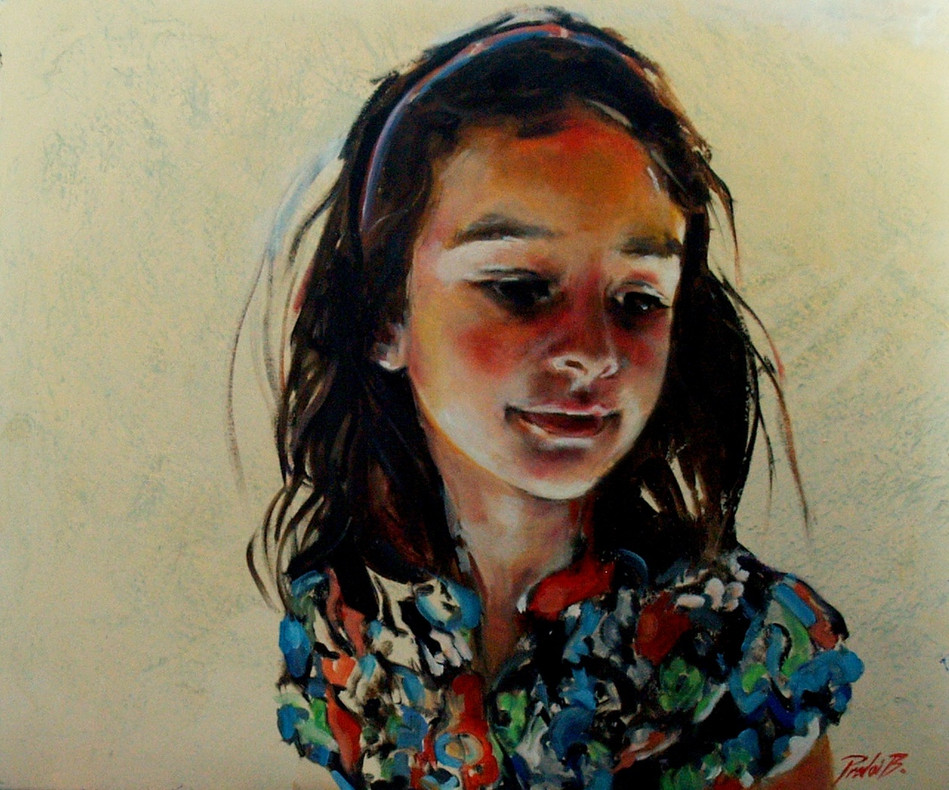 Girl in candle light, oil on canvas, 76X90 cm, 2013 (private collection).JPG