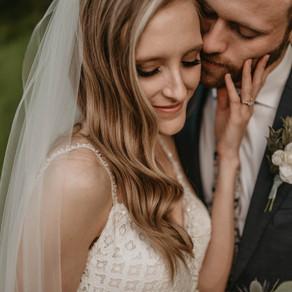 BEN + BRITTNEY . ROMANTIC RED WING WEDDING