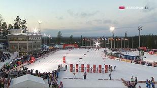 Биатлонный стадион.Контиолахти, Финляндия