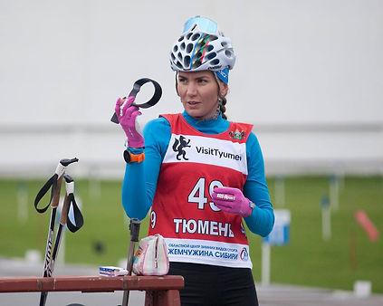 Сливко победила в индивидуальной гонке на летнем чемпионате России