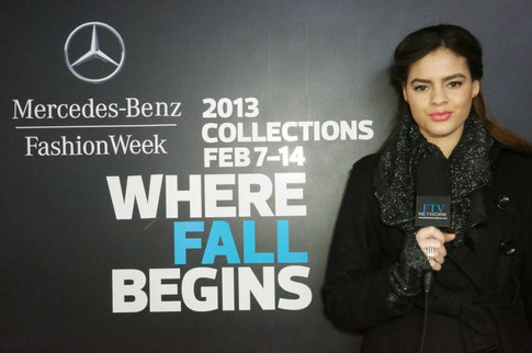 Maytee Martinez/ New York Fashion Week