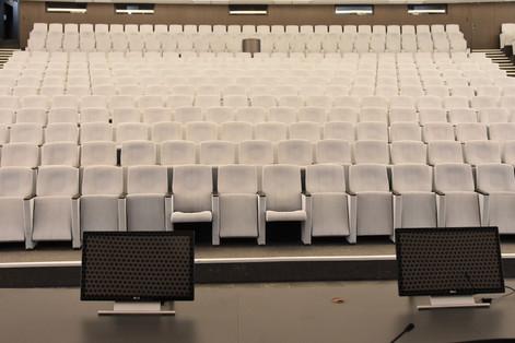 Общий вид зала от сцены