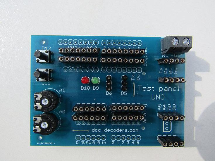 Arduino teszt panel