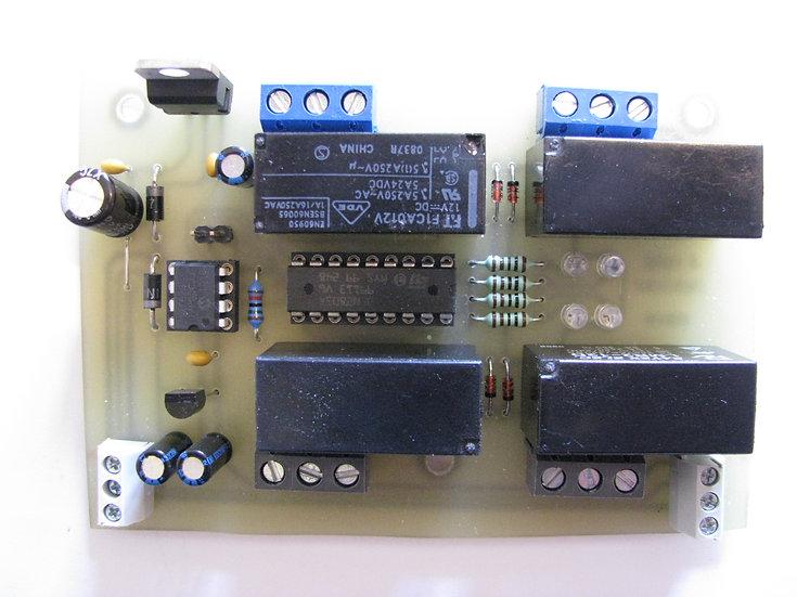 DCC Relé dekóder