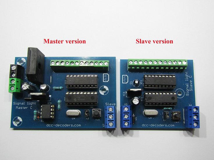 DCC Fényjelző dekóder közös katóda