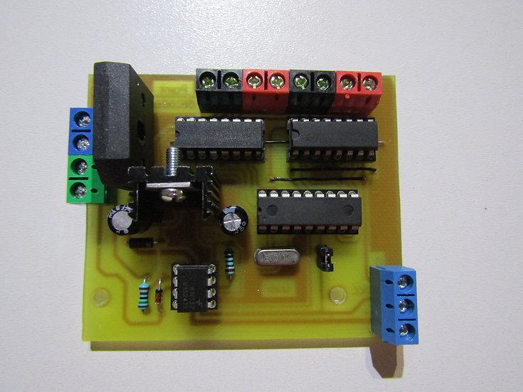 DCC Dekodér pre motorizované výhybky