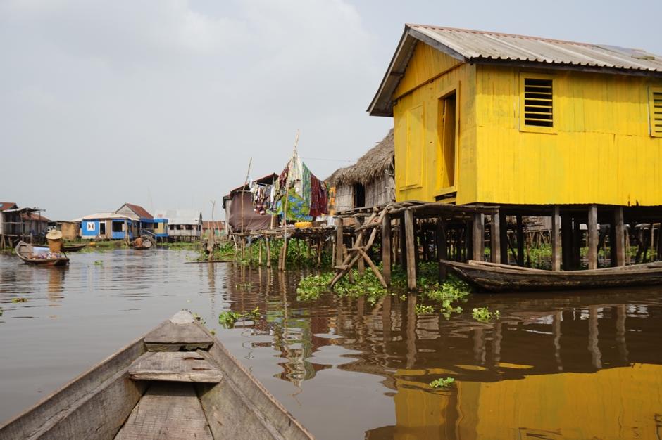 Ganvié, a city built on stilts in the middle of Lake Nokoué