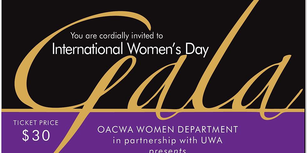2019 International Women's Day Gala Dinner