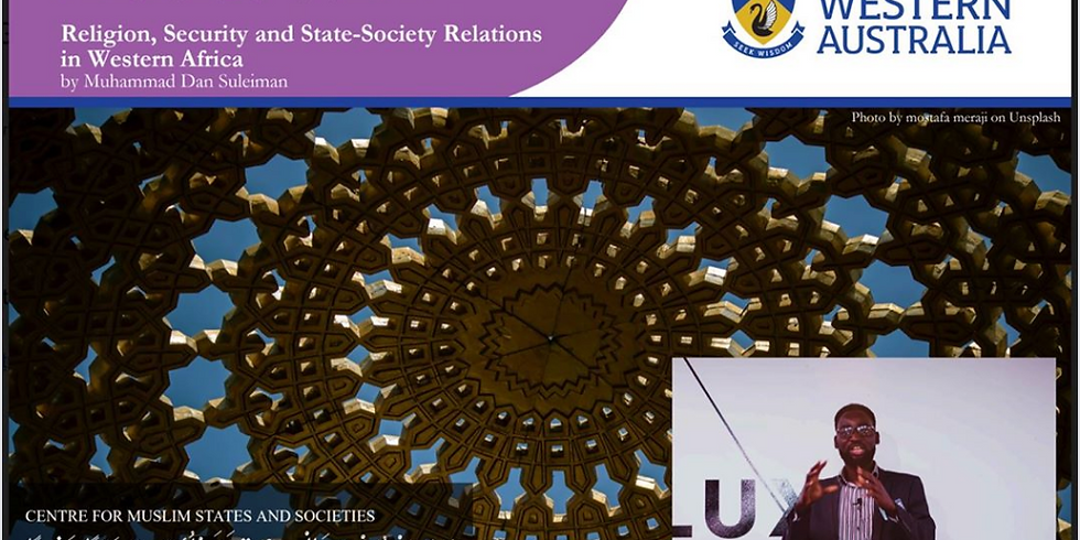 Religion, Security and State-Society Relations in Western Africa
