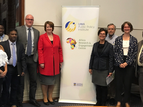 AfREC and Community Partners meet with Australian High Commissioner-designate to Mauritius