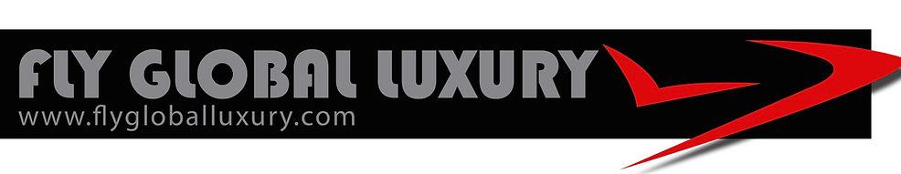 Logo fly global luxury