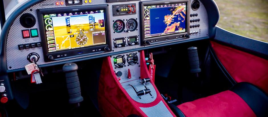 Piloto automático de aviones VL3 evolution