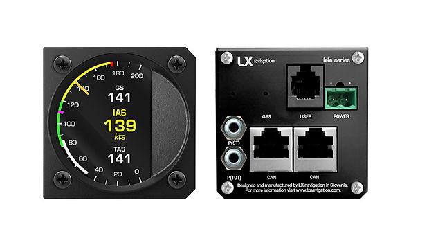 LX navegation anemómetro