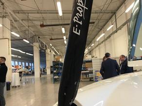 Las hélices de titanio de carbono de alta tecnología para aviones y aeronaves