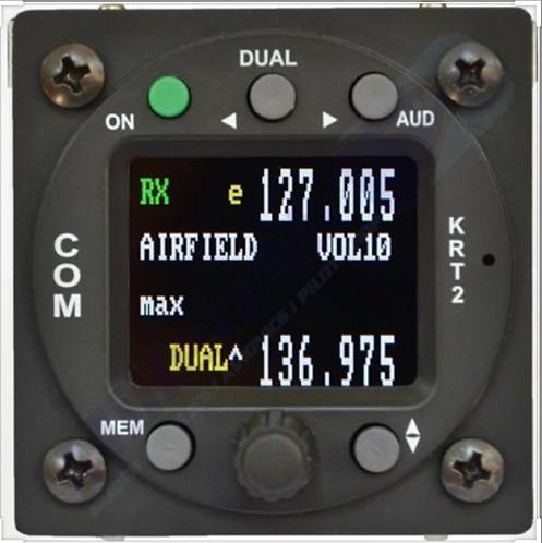 RADIO VHF TQ AVIONICS KRT2-S