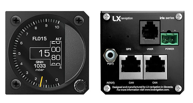 lx navegation altimetro