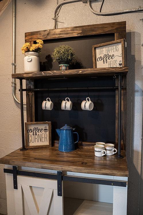 Custom Industrial Coffee Bar