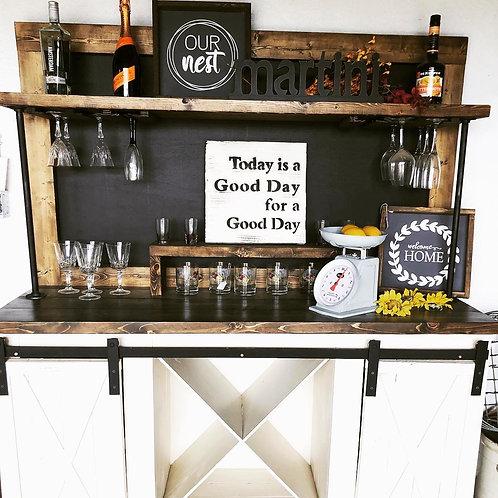 Wine Bar w/Chalkboard