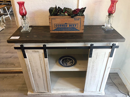 4ft Sliding Door Buffet/TV Stand