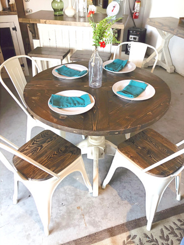 Round Dining Table Vintagefactory