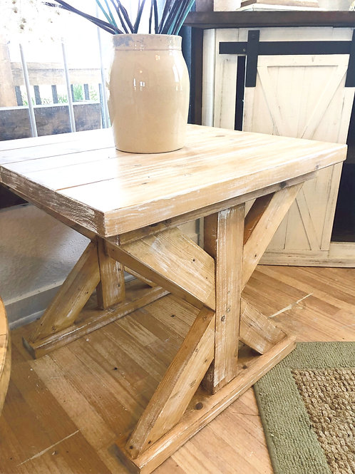 X-Base End Table