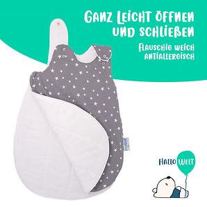 Babyschlafsack_Sterne_grau-weiß1_öffnen_