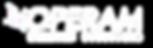Operam logo transparent - white - final