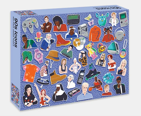 90s Icons: 500 piece puzzle