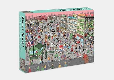 Where's Bowie? 500 piece puzzle David Bowie in 80s Berlin
