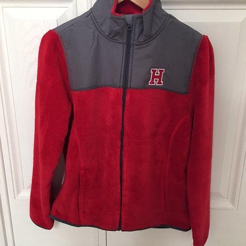 *SALE* HINGHAM Red Fleece Jacket- ADULT