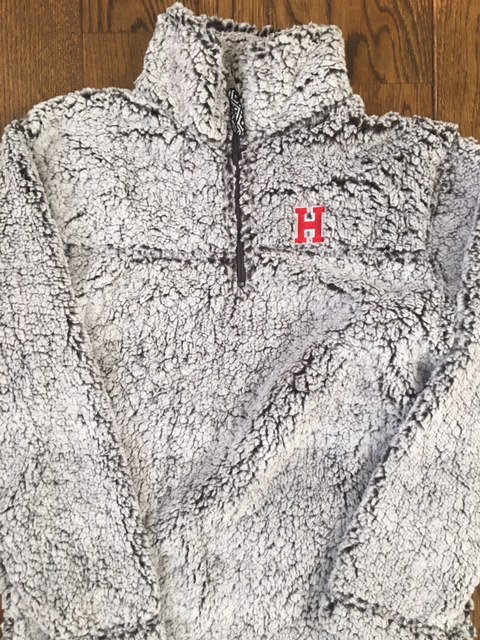 HINGHAM SHERPA 1/4 Zip Jacket- YOUTH