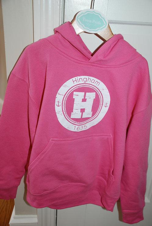 Hingham Circle H Sweatshirt- YOUTH