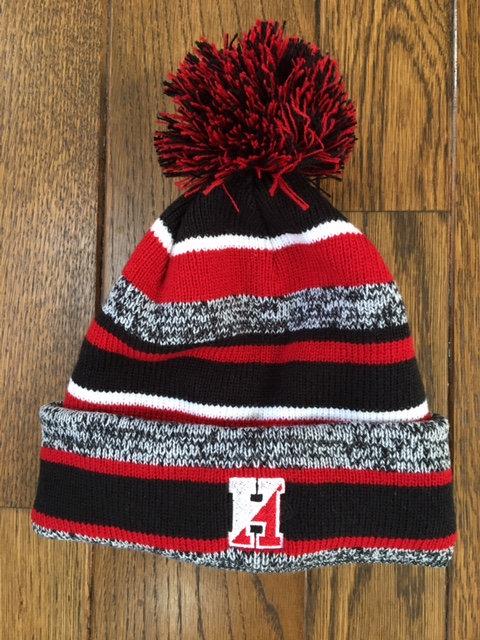 Hingham Pom Pom Hat Fleece Lined