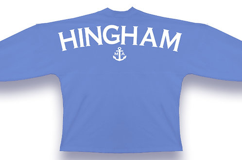 HINGHAM Long Sleeve Jersey- Adult