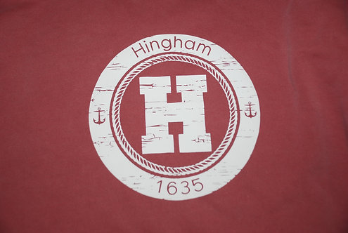 Hingham Circle H Short Sleeve Shirt- ADULT