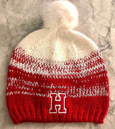 Hingham Fur Pom Pom Hat