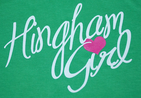 Hingham Girl Long Sleeve  Shirt- YOUTH