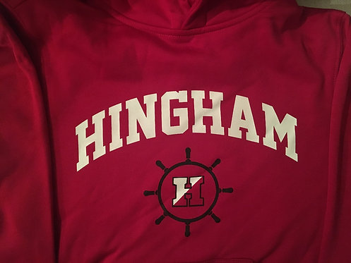 HINGHAM  Red Performance Sweatshirt- ADULT