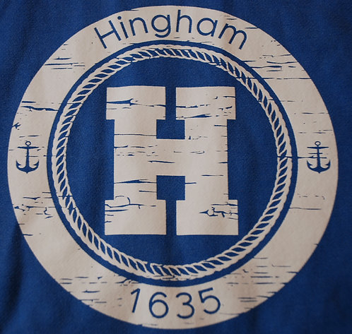 Hingham Circle H Hooded Pullover Sweatshirt- ADULT