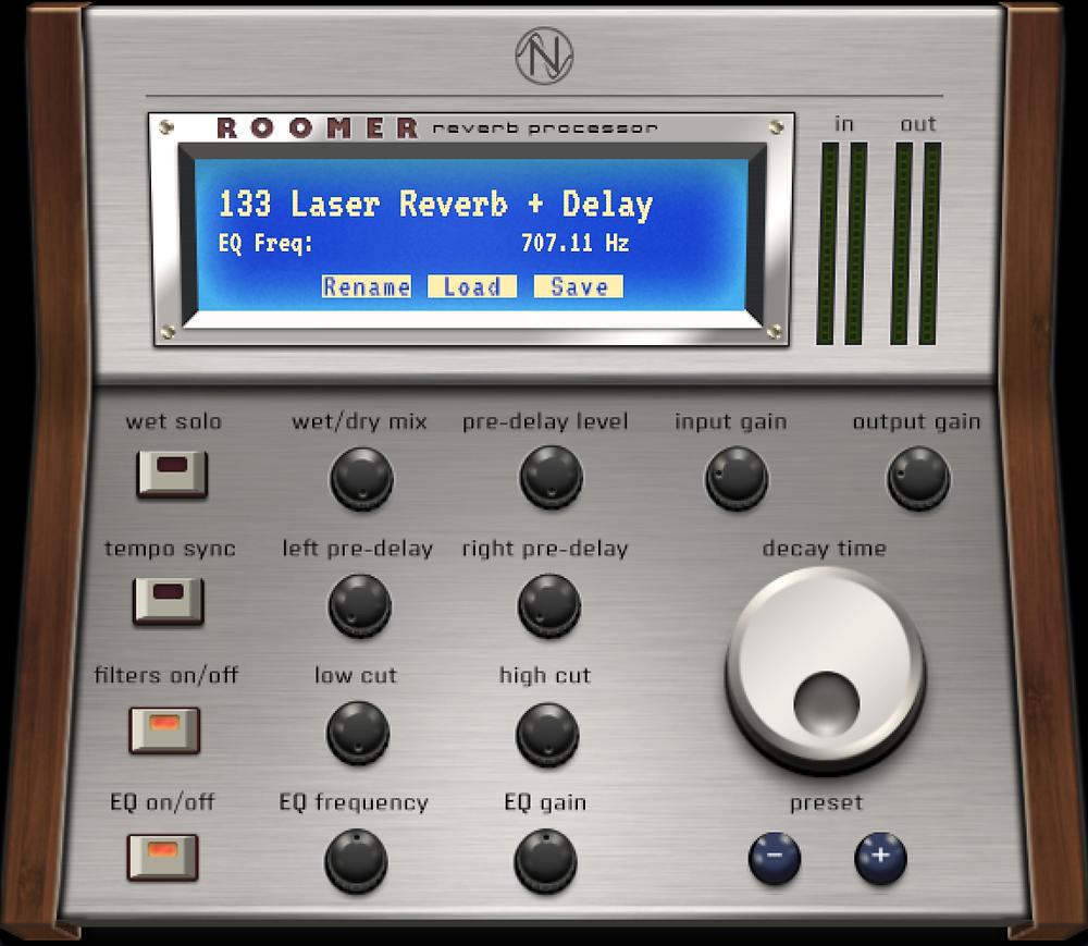 NOS Audio Roomer - Qubiq Powered FX Plugin