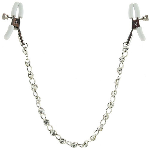 Nipple play Crystal Chain