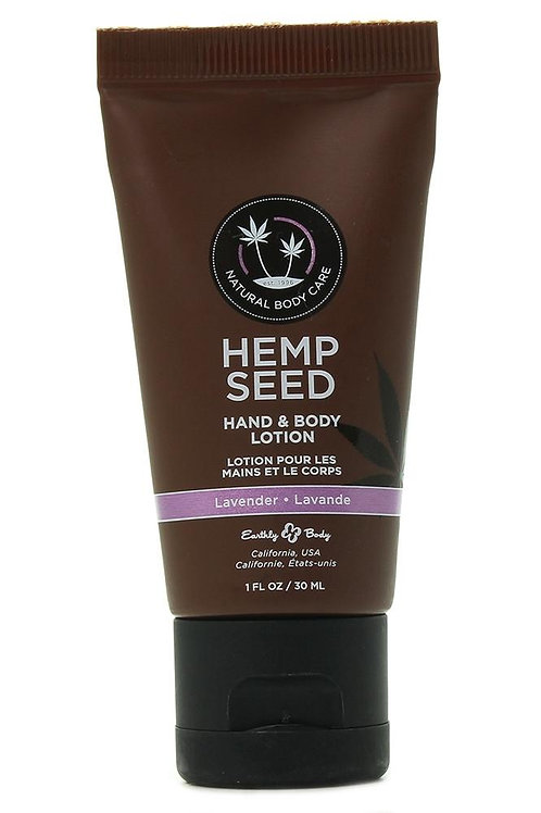 Hemp Seed Lotion 1oz/30ml in Lavender