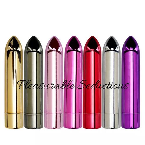 Pleasure Chrome Rechargeable Bullet (limited colors)