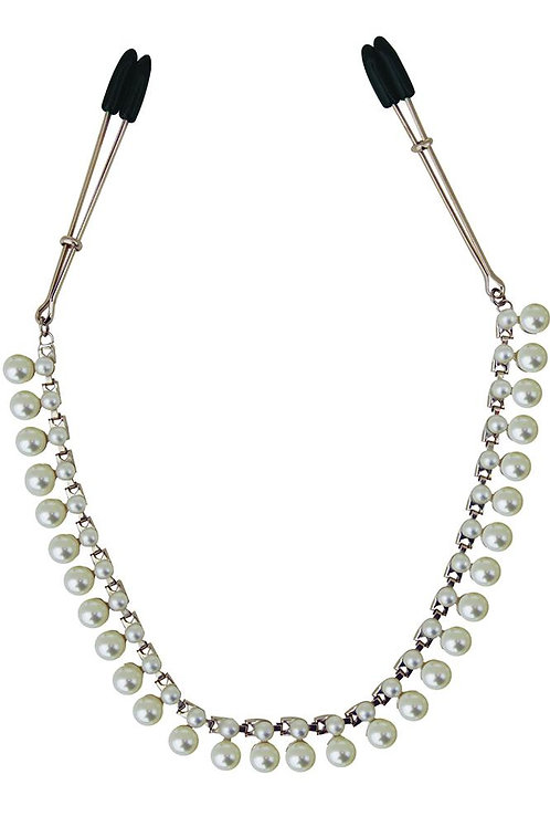 Pearl Chain Nipple Clamp