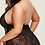 Thumbnail: Head Over Heels Black Lace Babydoll