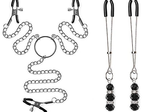 Jewelry Nipple Clamp set
