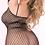 Thumbnail: Bad Intentions Black Fishnet Dress